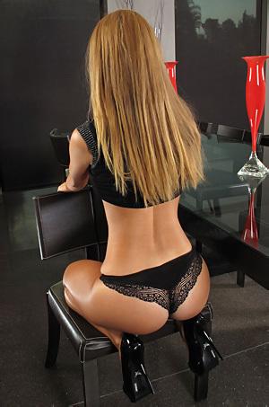 Jessie Rogers In Sexy Black Panties