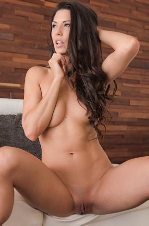 Alexa Tomas Gets Nude On A Couch
