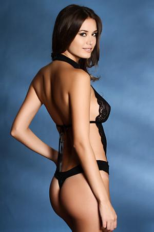 Talita Correa In Sexy Lingerie Collection