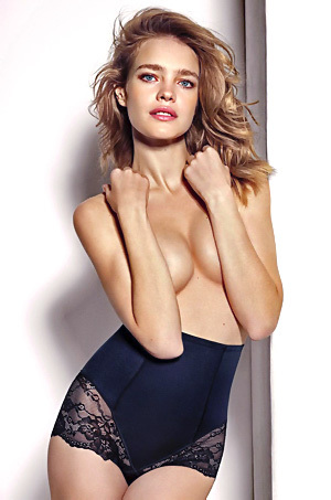 Natalia Vodianova In Sexy Lingerie Collection