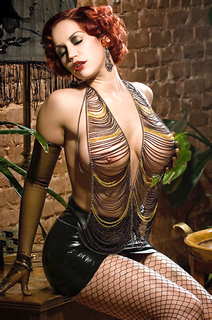 Bianca Beauchamp In Chain Top