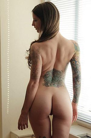Sylvia At Window