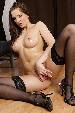 Sandra Shine Plays With Her Favourite Toy