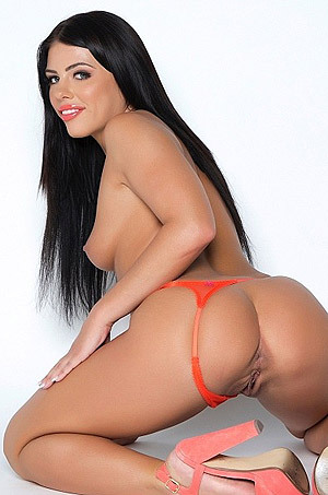 Black Haired Pornstar Adriana Chechik