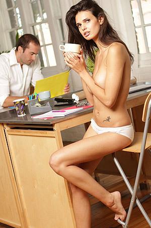 Karmen - Naked In The Office