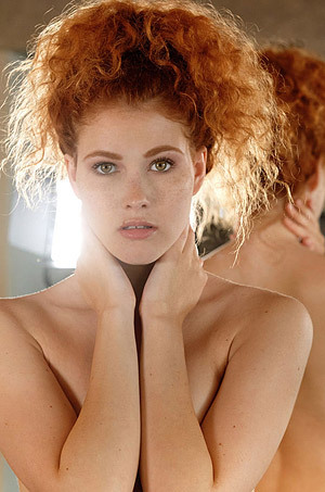 Naughty Redhead Adel