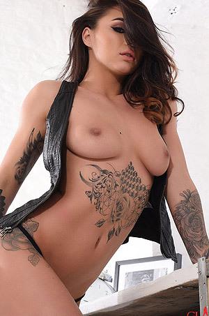 Hot Tattooed Mica Martinez
