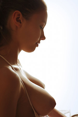 Big Titted Babe Mila Adores Fruits