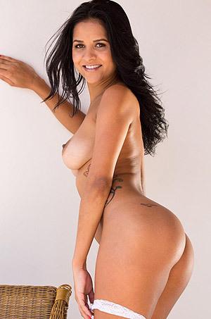 Busty Latina Abby Lee Brazil