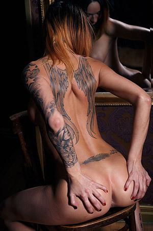 Horny Tattooed Babe Emma