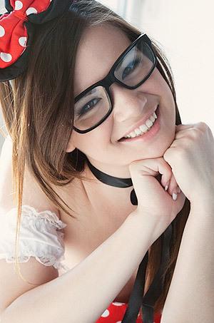 Cute Schoolgirl Alison Rey