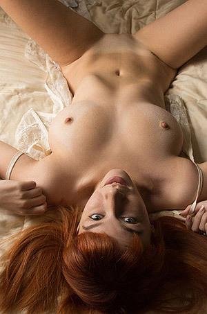 Busty Redhead Girl Penelope Lynn