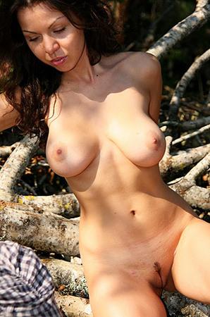 Nude Julke In The Woods