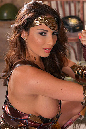 Anissa Kate The Best Fingering Wonder Woman