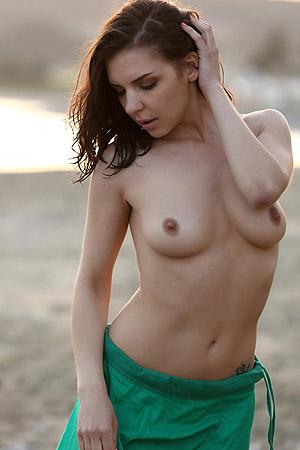 Goddess On The Beach