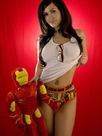 Viorotica Iron Man Panties